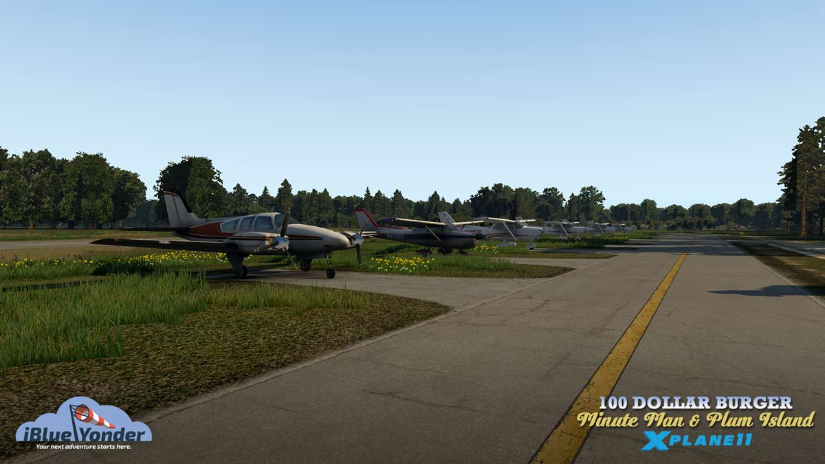 Minute Man + Plum Island Scenery for X-Plane 11 Released!